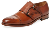Antonio Maurizi Leather Double Monkstrap