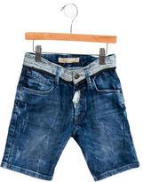 John Galliano Boys' Knee-Length Denim Shorts