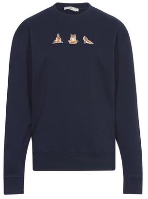 MAISON KITSUNÉ Cotton sweatshirt