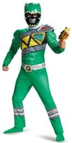 Kids Power Rangers Dino Charge Green Ranger Muscle Costume