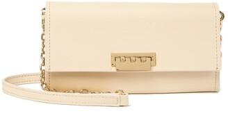 ZAC Zac Posen Eartha Leather Wallet on a Chain Crossbody Bag
