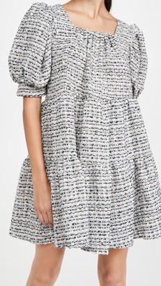 Sister Jane Waltz Tweed Confetti Dress