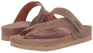 Taos Footwear Lola (Taupe Suede) Women's Sandals