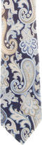 Etro Paisley Print Woven Tie