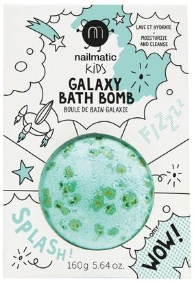 nailmatic Green Fizz Galaxy Bath Bomb