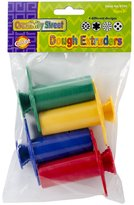 Creativity Street Dough Extruders 4/Pkg