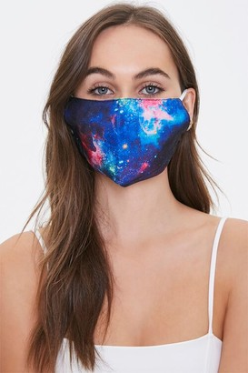 Forever 21 Galaxy Print Face Mask