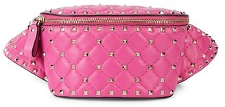Valentino Mini Studded Quilted Leather Beltpack