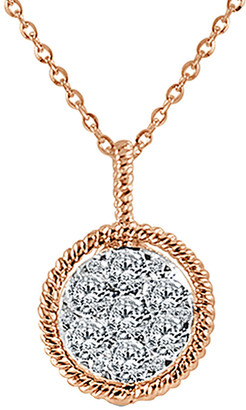 Sabrina Designs 14K Rose Gold 0.53 Ct. Tw Diamond Necklace