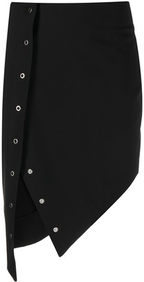 Just Cavalli High-Waisted Asymmetric Skirt