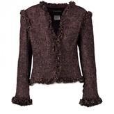 Chanel Purple Tweed Jacket for Women Vintage