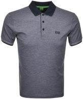BOSS GREEN Paddos Polo T Shirt Navy
