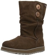 Skechers Women's Keepsakes-Freezing Temps Faux Fur Boot,Chocolate,7.5 M US