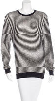Band Of Outsiders Striped Long Sleeve Sweater
