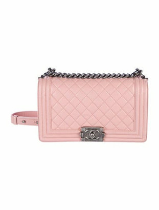 Chanel Medium Boy Bag Pink