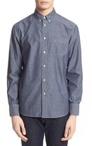 Rag & Bone Men's Trim Fit Chambray Shirt