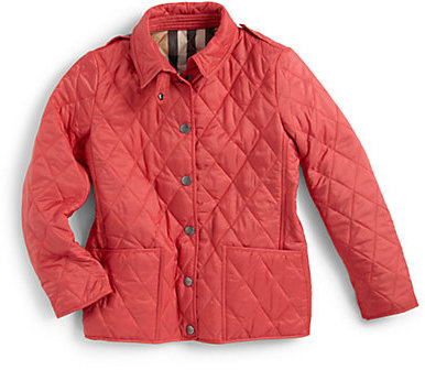 Burberry Little Girl's Quilted Jacket