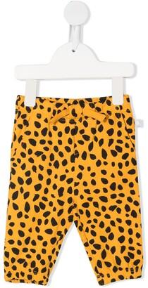 Stella McCartney Kids Animal-Print Drawstring Trousers