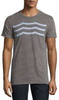 Sol Angeles Heathered Wave Patterned Tee
