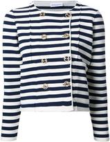 Sonia Rykiel striped fitted jacket - women - Polyester/Cashmere/Virgin Wool - L