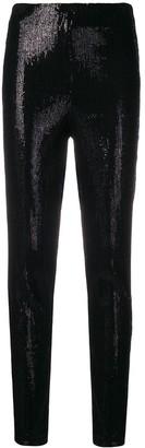 Plein Sud Jeans Sequin Skinny Trousers