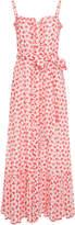 Lisa Marie Fernandez Button-Down Eyelet Cotton Dress