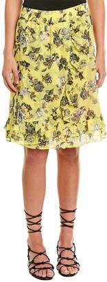 Kensie Ruffle Skirt