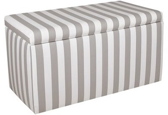 Skyline Furniture Bonham Upholstered Storage Bench