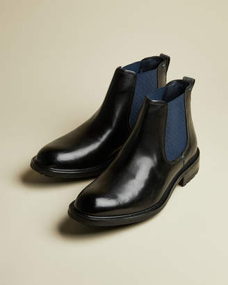 Ted Baker WARKRR Leather Chelsea boots