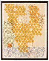Honeycomb Block Print