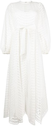 Zimmermann Poppy eyelet long dress