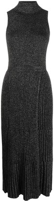 Diane von Furstenberg Lennon lurex knitted dress