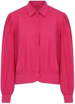 Kith & Kin Pink Geometric Detail Closure Shirt