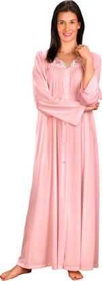 Shadowline Women's Petals 54 Inch Long Sleeve Long Coat