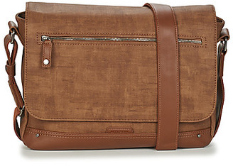 Wylson - men's Messenger bag in Beige