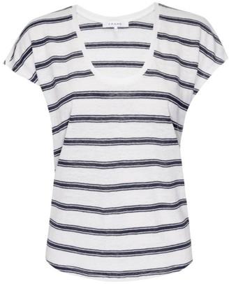 Frame Easy Scoop Striped T-Shirt