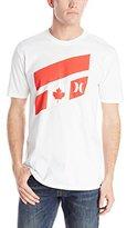 Hurley Men's Icon Slash Destination Premium Short Sleeve T-Shirt