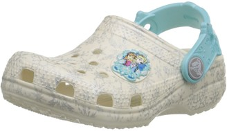 Crocs Girls Classic Frozen K Clogs Beige