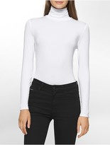 Calvin Klein Liquid Jersey Turtleneck Top