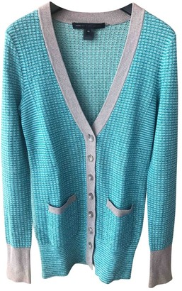 Marc by Marc Jacobs Turquoise Silk Knitwear for Women