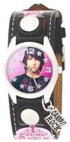 Disney Camp Rock Kids' CRO170 Fatback Black And Pink Watch