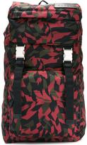 Marni geometric backpack - men - Cotton/Leather/Acrylic/Polyamide - One Size