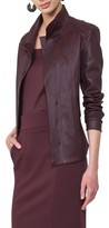 Akris Punto Women's Leather Front Jacket