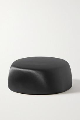 Philip Treacy Satin Hat - Black