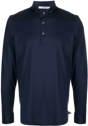 La Fileria For D'aniello Plain Polo Shirt