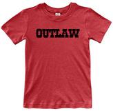 Urban Smalls Red 'Outlaw' Crewneck Tee - Toddler & Boys