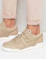Reebok Workout Plus Sneakers In Beige AR0250