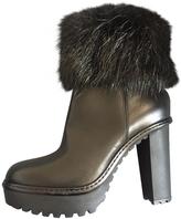 Moncler fur boots.