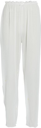 WeWoreWhat Sheer Wide-Leg Pants