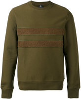 Paul Smith contrast stripe sweatshirt - men - Cotton - S